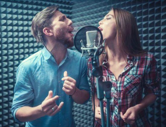Singing people